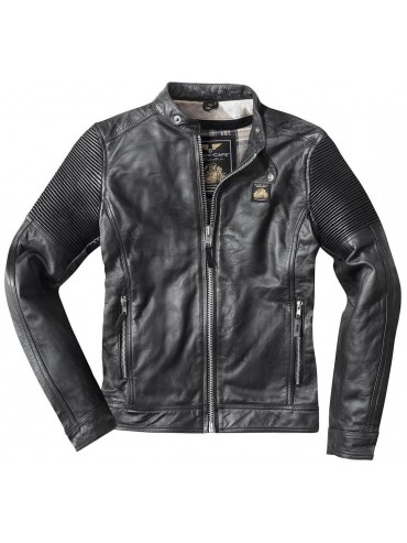 BLACK-CAFÉ London leather jacket MILANO