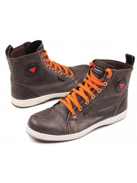 MODEKA motorcycle sneakers LANE_brown
