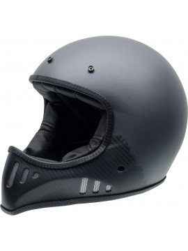 NZI casco integral MAD CARBON antracite matt metal
