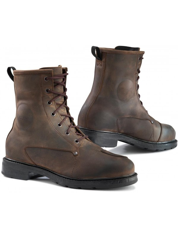 TCX motorcycle boots X-BLEND brown