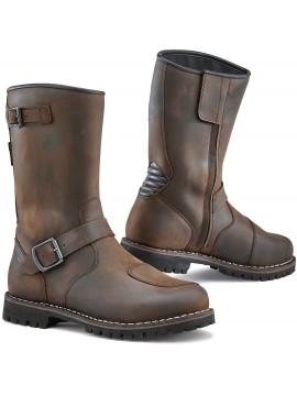 TCX botas moto FUEL castanho
