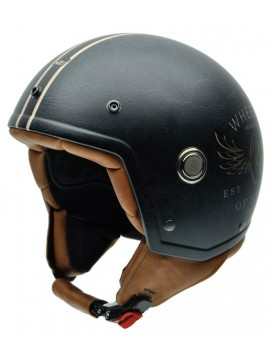 NZI casco jet Tonup STEELWHEELS