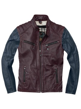 BLACK-CAFÉ London leather jacket FIRENZE