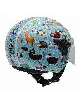 NZI casco jet  junior Helix
