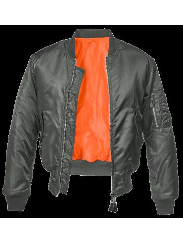 Brandit blusão Bomber MA1 antracite