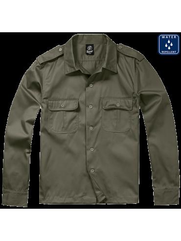 BRANDIT camisa ARMY verde