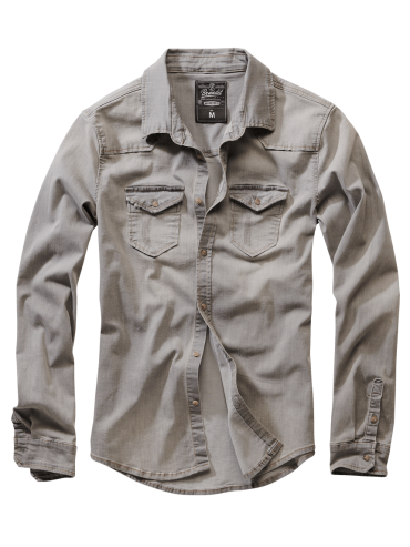 Brandit denim shirt RILEY-2