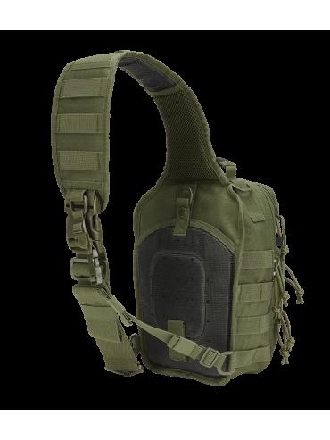 BRANDIT mochila US COOPER verde costas
