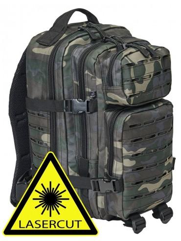 Brandit US Cooper LASERCUT medium backpack darkcamo
