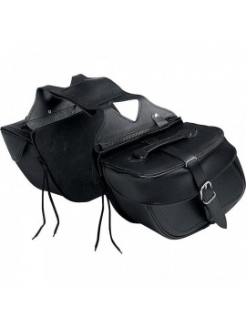 QBAG leather saddlebag pair 08