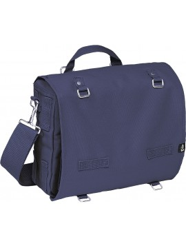 Brandit Canvasbag large crossbody bag navy