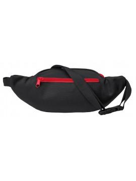 Brandit bolsa de cintura black/red