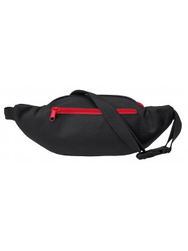 Brandit waist belt bag black/red