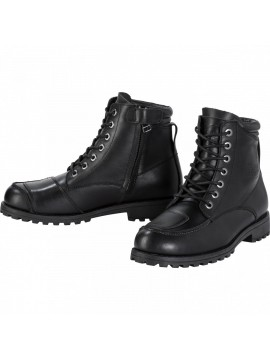 SPIRIT MOTORS leather boots 3.0-black