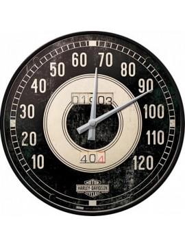 "Nostalgic-Art clock ""Harley-Davidson Tacho"""