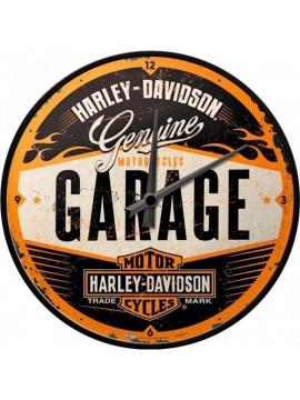 "Nostalgic-Art clock ""Harley-Davidson Garage"""
