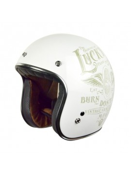 ORIGINE capacete jet Primo Flying Wheel-branco