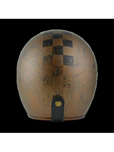 ORIGINE jet helmet Primo Scacco Brown-2