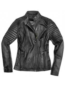 BLACK-CAFÉ lady leather jacket Shona