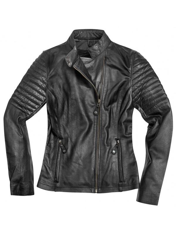 BLACK-CAFÉ lady leather jacket Shona
