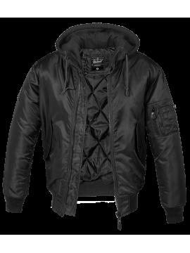 BRANDIT jacket whit hood MA1-4