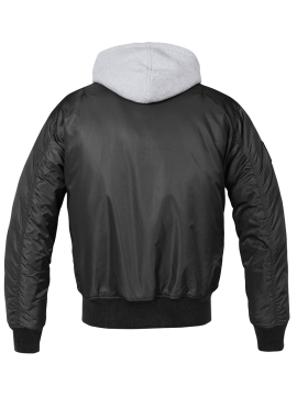 BRANDIT jacket whit hood MA1-1