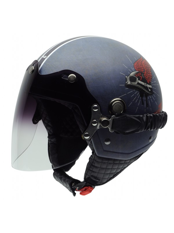 NZI jet helmet Tonup Live To Ride