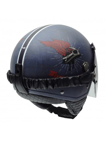NZI jet helmet Tonup Live To Ride -1