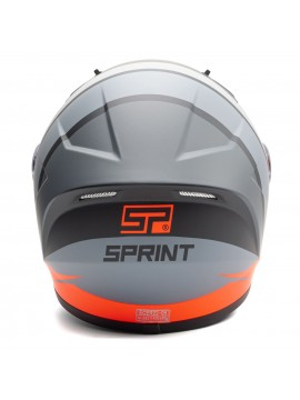 SPRINT capacete integral Fast bicolor-4