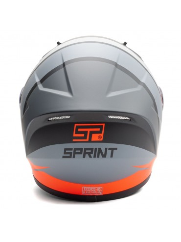 SPRINT full face helmet Fast bicolor-3
