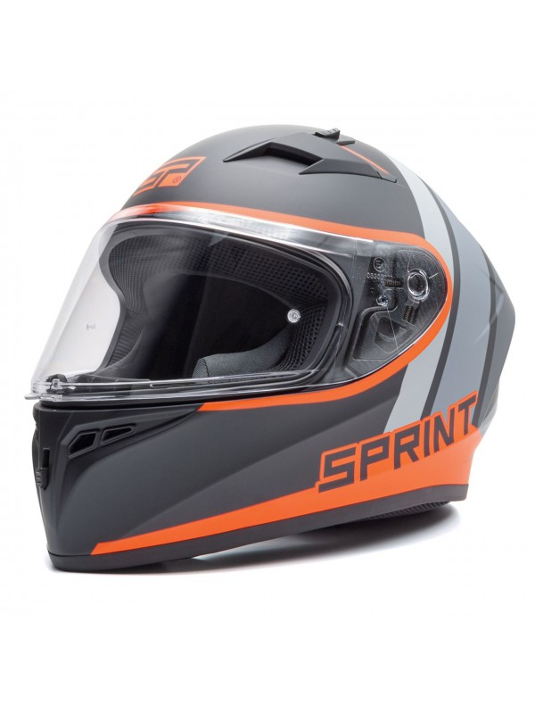 SPRINT full face helmet Fast bicolor