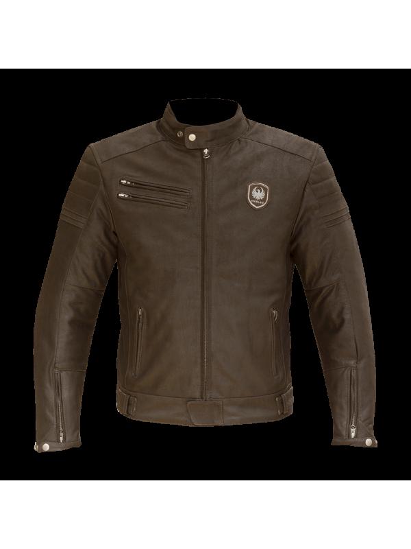 MERLIN leather jacket Alton brown