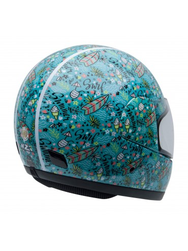 NZI full face helmet Activity Jr Summerdurf