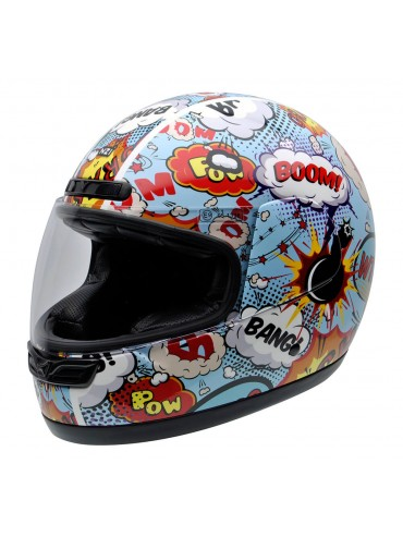NZI full face helmet Activity Jr Boom
