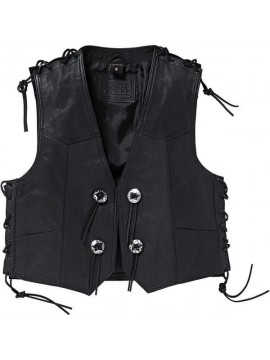 Spirit Motors Concho leather vest 1.0
