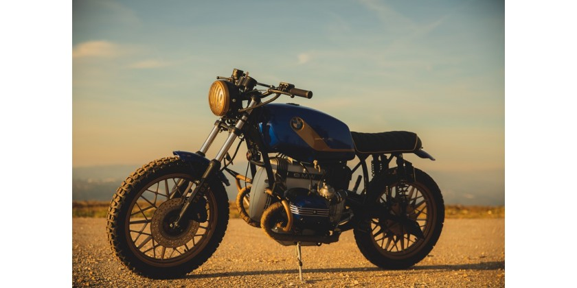 Taiga by Saudade Motorcycles - Pronta para explorar